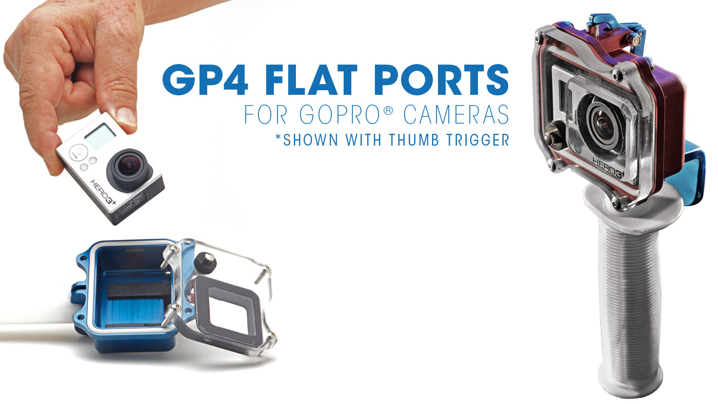 SPL-waterhousings-gp4-gopro-housings-flat-port-thumb-trigger